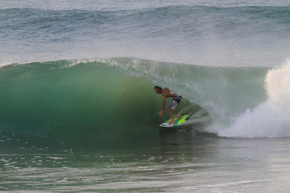 Drainer at La Escondida, Josh Mulcoy, photo David