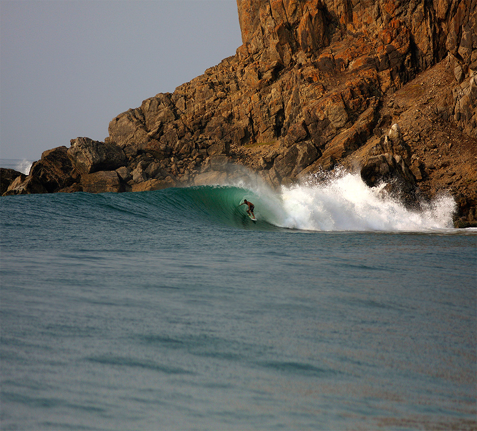 Classic Escondida, Josh Mulcoy - Photo Trefz Las Palmeras Surf Camp