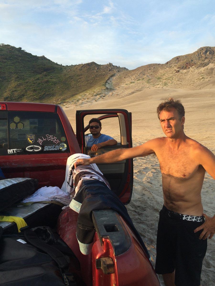 Kelly Slater at Las Palmeras Surf Resort