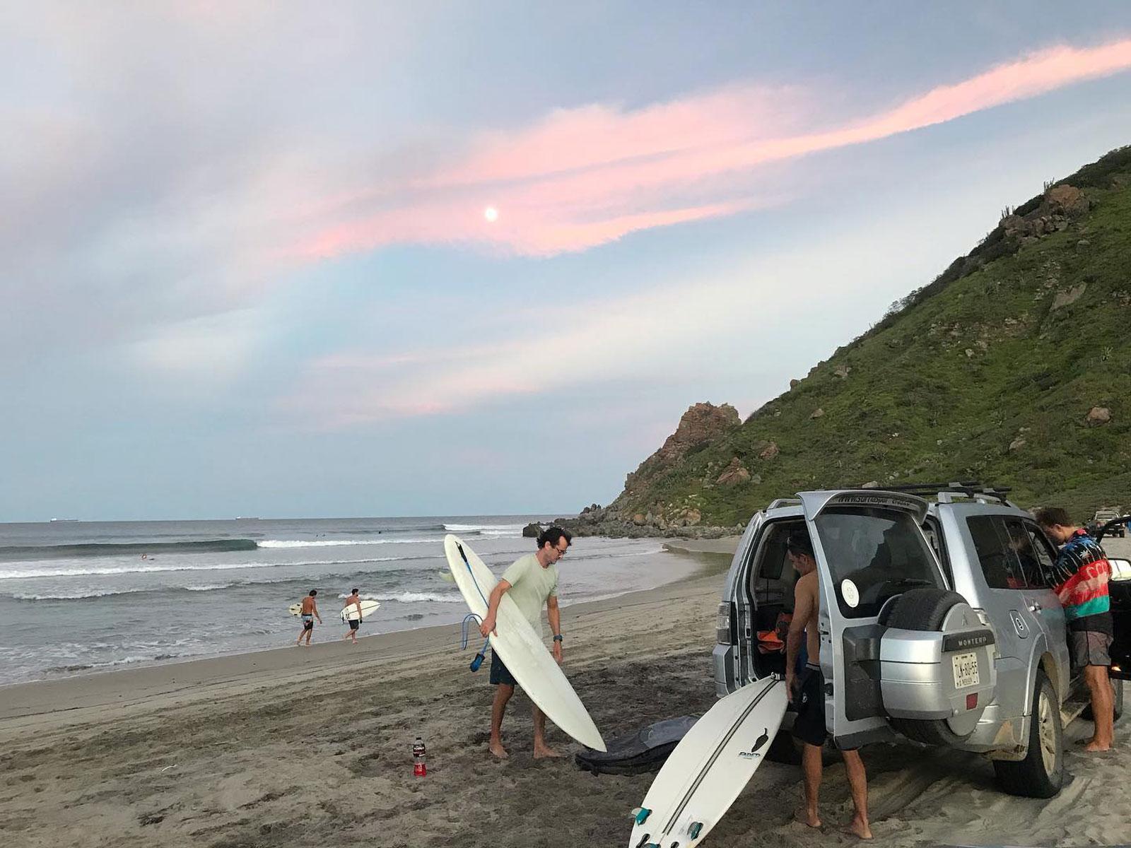 Las Palmeras Surf Camp, Salina Cruz, Oaxaca, Mexico, September 2020