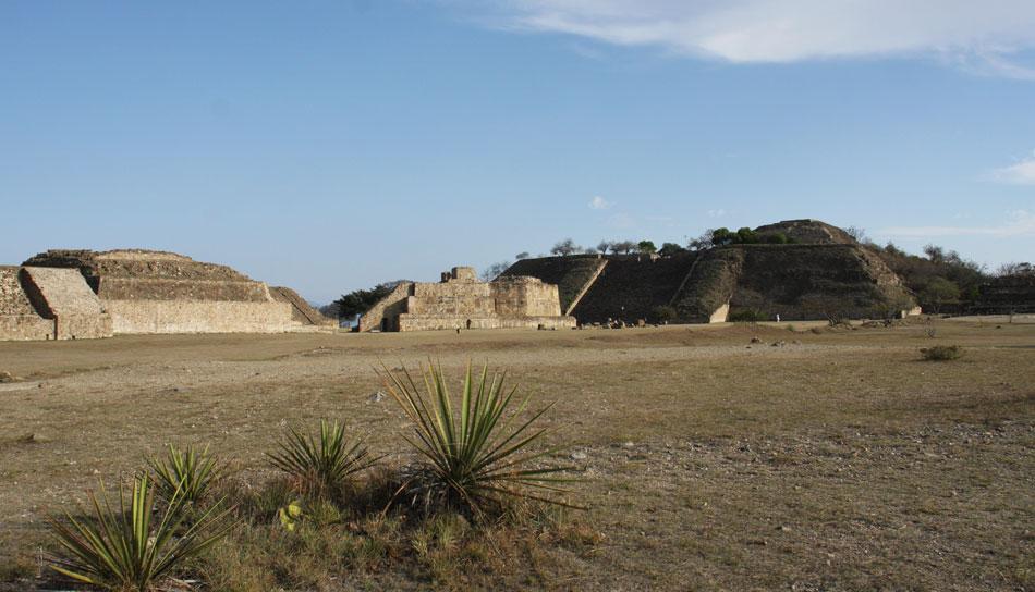 Monte Alban Ruins, Oaxaca City, Oaxaca