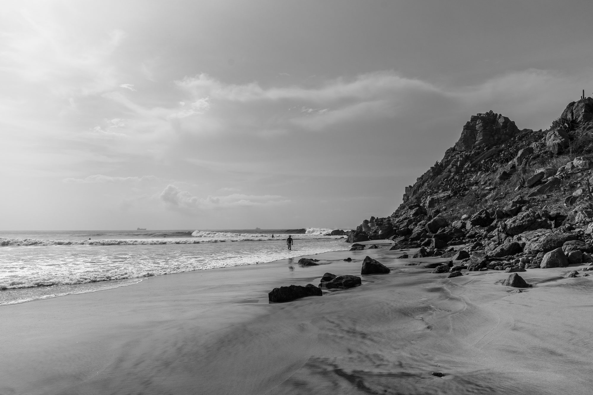 Las Palmeras Surf Camp, Salina Cruz, Oaxaca, Mexico, Photo Marc Mcinnis