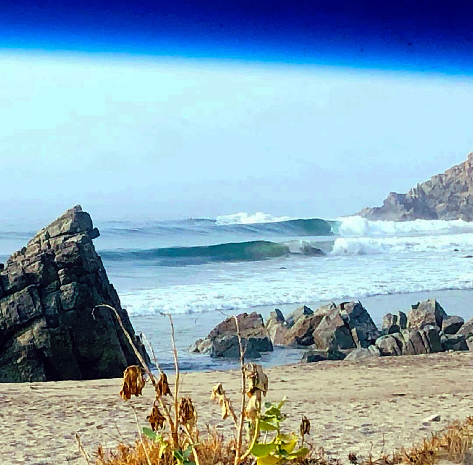 Surf Las Palmeras Windshield Visions via Aaron Bierman