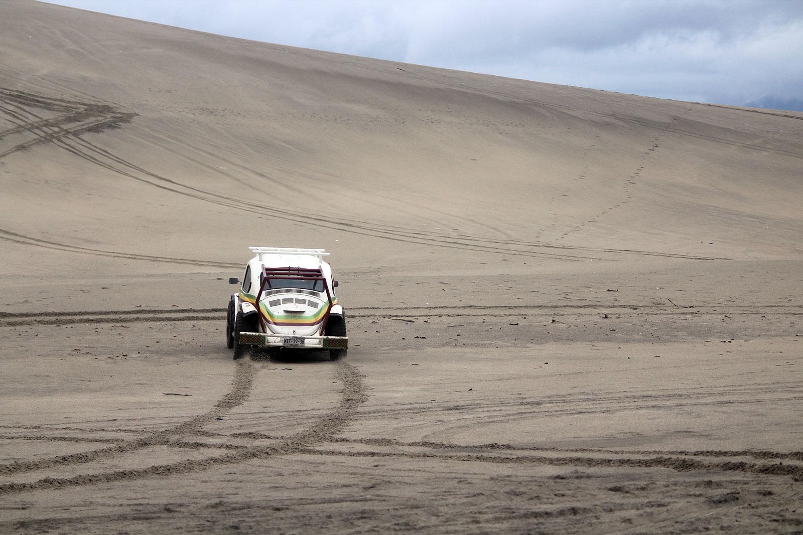 Sand Buggy, Punta Conejo | Las Palmeras Surf Camp, Salina Cruz, Oaxaca, Mexico