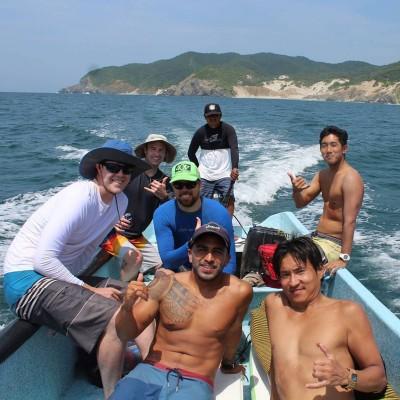 Boat Trip | Las Palmeras Surf Camp, Salina Cruz, Oaxaca, Mexico