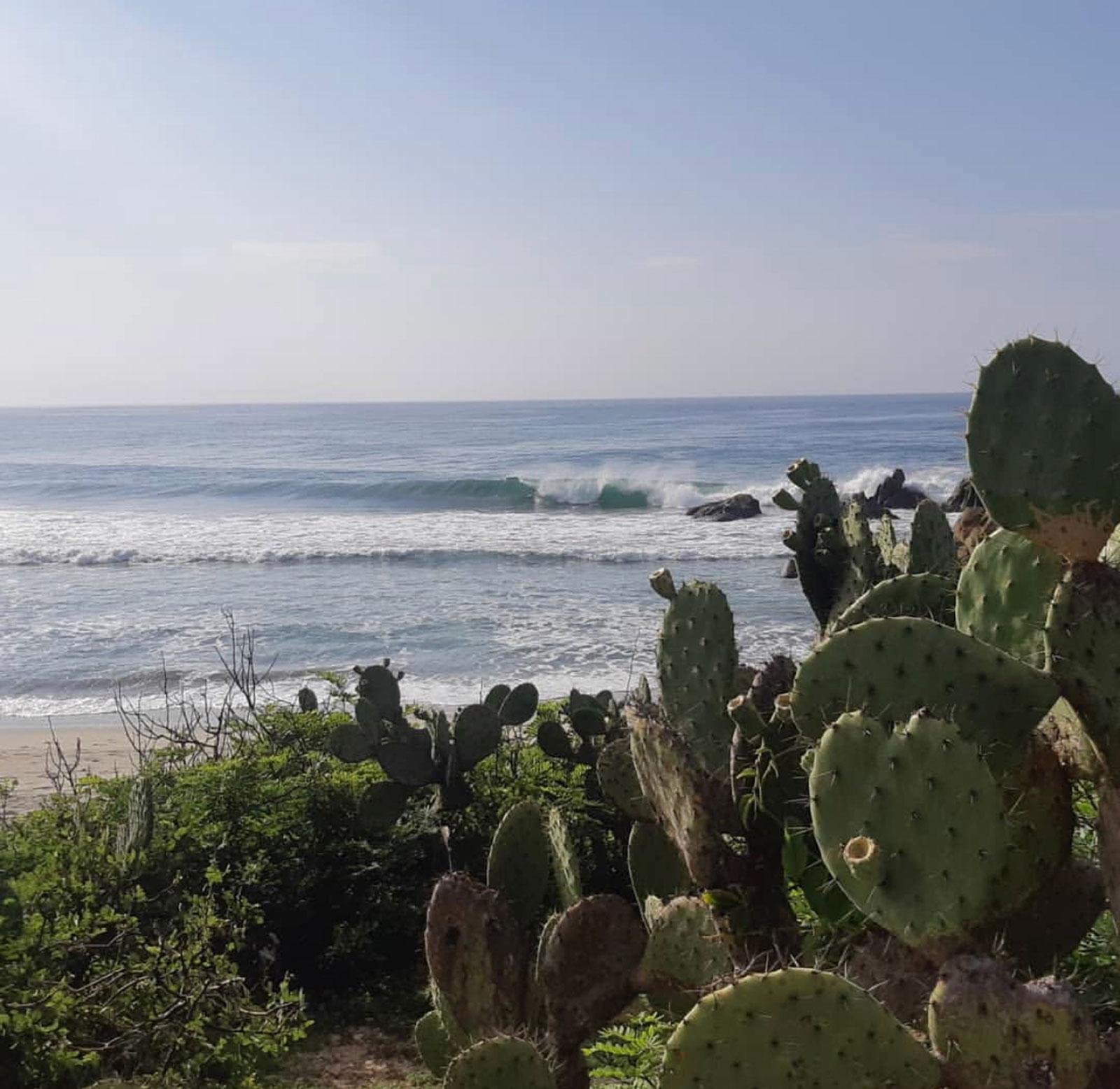 Punta Ramirez, Salina Cruz, Oaxaca, Mexico, Las Palmeras Surf Camp
