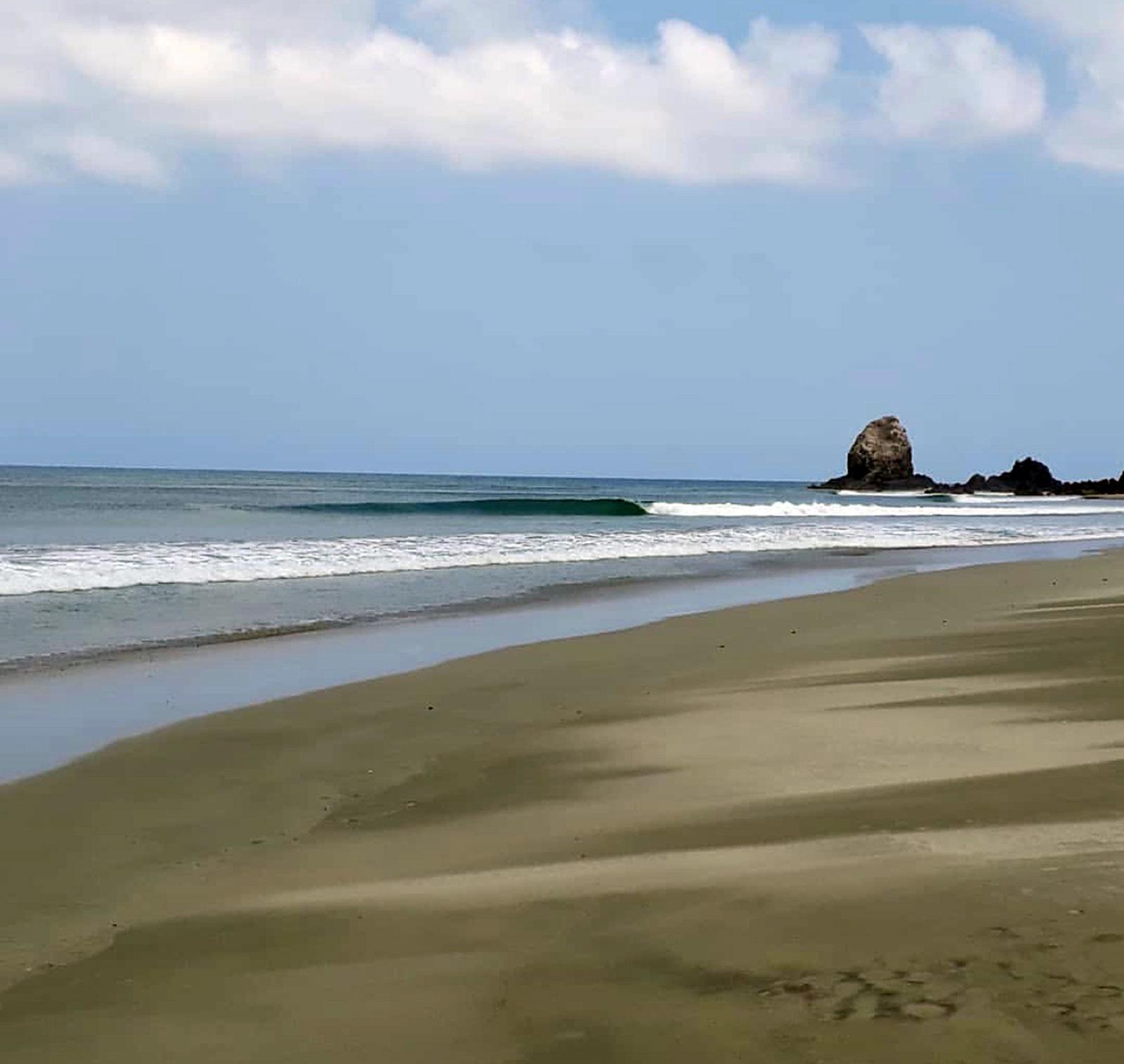 Punta Chivo, Salina Cruz, Oaxaca, Mexico, Las Palmeras Surf Camp