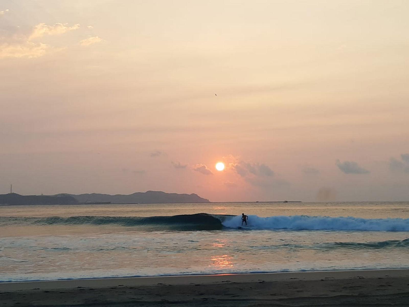 Las Palmeras Surf Camp, Punta Conejo, Salina Cruz, Oaxaca, Mexico