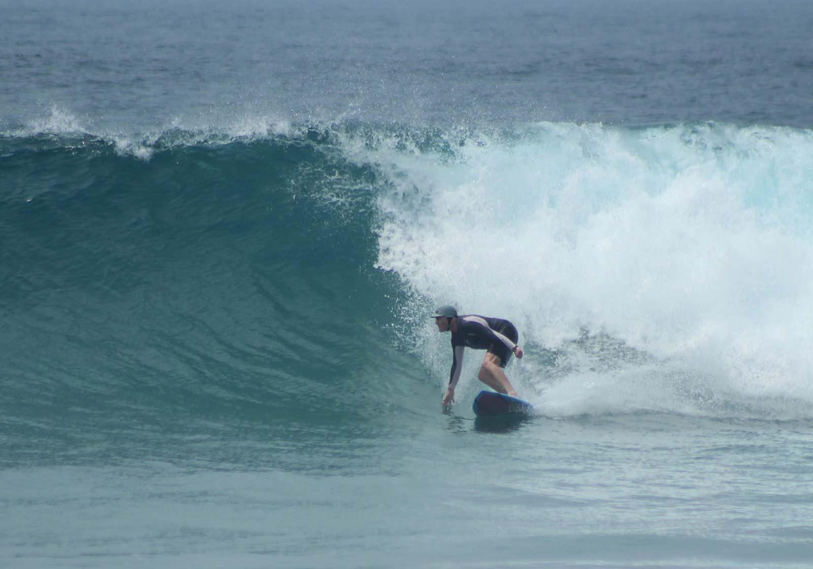 Shay Las Palmeras Surf Camp, Salina Cruz, Oaxaca, Mexico